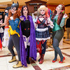 161231-3156 Ichibancon (WashuOtaku) Tags: 2016 28mmf18g batgirl concord cosplay harleyquinn ichibancon marvelcomics nikond800 northcarolina poisonivy raven