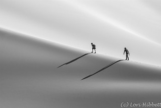 Exploring Death Valley Sand Dunes