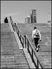 Handrail (Guido Colombini) Tags: milano portanuova bw skycraper handrail stair bianconero street