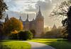 Castle De Haar (Julysha) Tags: dehaar castle park autumn backlight architecture thenetherlands d700 nikkor1685vr cnx2 2009 october