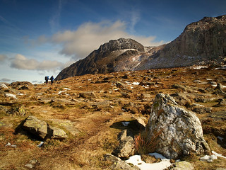 This way Tryfan