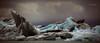 Ceniza e hielo (Javier PerezZ) Tags: coastline cliff iceberg tranquility sky water sunset lake beautyinnature