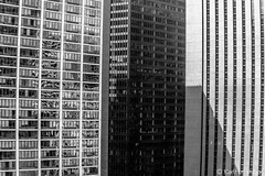 Walls (www.karltonhuberphotography.com) Tags: 2017 architecturaldetails architecture bw bigcity blackandwhite buildings chicago citywalls claustrophobic downtown illinois karltonhuber officebuildings officetowers shadows skyscrappers streetphotography urban windows windycity