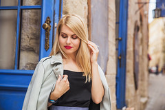 Young blonde woman with long hair with bright makeup (jn_photography_lviv) Tags: beautiful blonde casual caucasian city cute dress fashion gorgeous hair hipster lady life lifestyle long look outdoor outfit suede blue pretty spring street style stylish summer sunny vogue walk walking woman young girl female urban trend trendy top black businesswoman confidence alone attractive model shy door cafeteria day luxury luxurious touch hand romantic mood