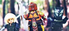 LEGO Black Panther - Okoye Preview (MGF Customs/Reviews) Tags: lego avengers infinity war black panther chadwick boseman okoye danai gurira widow scarlett johansson custom figure minifigure