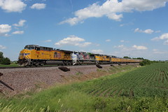 UP 7166 Take 1 (CC 8039) Tags: up trains ac44cw sd70ah sd70ace 1943 spirit union pacific morrison illinois