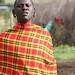 Maasai man with ears pierced