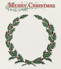 Christmas wreathe graphic taken from the Schomburg menu collection (1920) (Free Public Domain Illustrations by rawpixel) Tags: antique arizona artworkstory blessing cc0 celebration christmas creativecommon0 creativecommons0 decoration drawing festival forthuachuca greenery greeting handdrawing holiday holidays holly isolated leaves merry occasion publicdomain retro seasons traditional unitedstatesarmy usarmy usa vintage winter wreath xmas