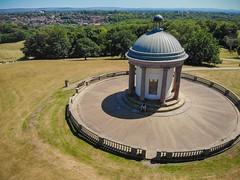 Heaton Park monument (Elliot Hyndman Photography) Tags: drone djimavic mavicair dronephotography ariel djimavicair heatonpark manchester mcr mcruk droneography