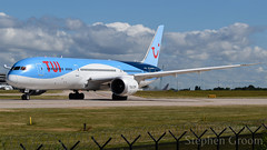 TUI Airways Boeing 787-9 G-TUIJ (StephenG88) Tags: manchesterairport southside man egcc 23l 23r boeing airbus 21stjune2018 21618 62118 787 789 7879 dreamliner gtuij tuiairways tom by thomson tui tuiuk