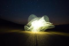 DSC03859 (susie.solorzano) Tags: lightpainting night stars nightphotography light longexposure desert deathvalley badlands lowpoint road darkness dark