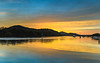 Sunrise Waterscape on the Bay (Merrillie) Tags: daybreak woywoy landscape nature australia foreshore newsouthwales light earlymorning nsw brisbanewater yellow boats morning dawn coastal water sky waterscape sunrise centralcoast bay outdoors