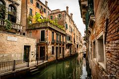 Venice (Magda Banach) Tags: canal canon canoneos5dmarkiv italy wenecja włochy architecture buildings city colors venice water venezia veneto it