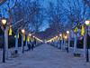 Sallent, passeig de la Biblioteca (Jordi Domènech i Arnau) Tags: catalunya bages nit passeig carrer