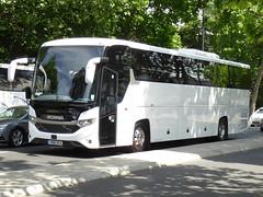 YN18SFO (47604) Tags: yn18sfo scania bus coach embankment