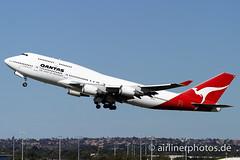 VH-OEC (Airlinerphotos.de) Tags: b747400 qantas syd
