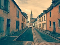Le village de Languidic (Bretagne, Morbihan, France) (bobroy20) Tags: languidic église rue street village villagebreton morbihan lorient brandérion brittany