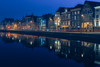 Spaarne at blue hour (dutchlander) Tags: bluehour bluesky haarlem netherlands travel architecture building buildingexterior builtstructure city dusk europe illuminated lighttrail night nightlife nopeople outdoors reflection residentialdistrict river sky symmetry water waterfront