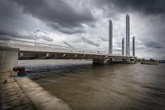 Pont Chaban Delmas - Bordeaux (alouest225) Tags: alouest225 nikon d750 pont bordeaux gironde france aquitaine garonne pontchabandelmas nikon1635