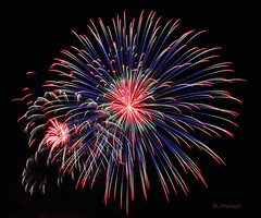 IMG_6251 Fireworks (VenturaMermaid) Tags: fireworks burst blast winterblast wpa display show color pyrotecnics sky night lakehavasu nightphotography motion action canon westernpyrotechnicassociation