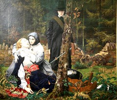 The Wounded Cavalier by Burton (kitmasterbloke) Tags: guildhallartgallery london corporationoflondon city art museum victorian preraphaelite painting picture indoor