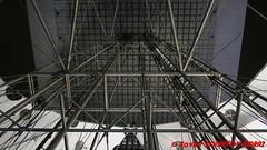 La Defense by night - La Grande Arche - Lifts (soyouz) Tags: fra france geo:lat=4889240210 geo:lon=223532885 geotagged îledefrance ladefense puteaux nuit lagrandearche 92hautsdeseine francela fr