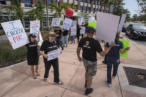 Miami Dade Medicaid Cuts Protest - April 11th, 2018