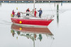 Coming in (Aliy) Tags: ramsgate boat red reflection reflections sailingboat kent