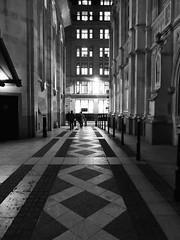 Diamond Geezers (Douguerreotype) Tags: monochrome buildings street lights city night bw window uk geometry british mono blackandwhite architecture britain gb england london geometric urban people dark