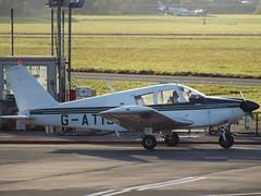 G-ATIS Piper Cherokee 28 Private (Aircaft @ Gloucestershire Airport By James) Tags: gloucestershire airport gatis piper cherokee 28 private egbj james lloyds