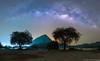 Milky way panorama view captured from Kanchanaburi, Thailand (Vipu Srinavavong) Tags: milkyway astro star filckr nightshoot photographer nikon d750 thailand beautiful attraction ngc