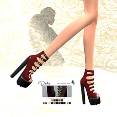 LuceMia - SlackGirl at On9 Event (MISS V♛ ITALY 2015 ♛ 4th runner up MVW 2015) Tags: on9eventsl slackgirl shoes new creations mesh hud colors texture beauty blog event models lucemia