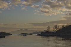 From Rossøya (Svein K. Bertheussen) Tags: rossøya ryfylke rogaland norge norway yachting sailing båtliv himmel sky solnedgang sunset kveld evening skyer clouds sjø hav sea water vann
