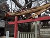 worm‐eaten torii Onomichi (kasa51) Tags: shrine torii decay ruined abandoned onomicji hiroshima japan 尾道 久保亀山八幡神社 稲荷神社 摂社(せっしゃ) 末社(まっしゃ) 鳥居 虫喰い worm‐eaten