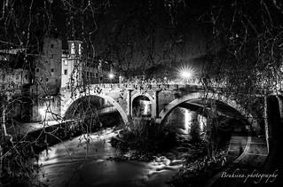 Ponte Fabricio in B&W - Roma