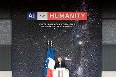 2018-03-29 (180631) Paris, Collège de France, discours sur l'intelligence artificielle (Elysée - Présidence de la République) Tags: macron collegedefrance discours