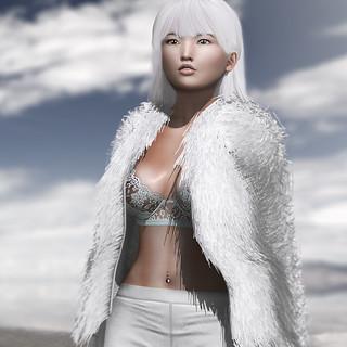 Furry White