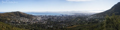 Cape Town from Table Mountain (Gabriel Paladino Photography) Tags: panorama cape town pano capetown tablemountain westerncape southafrica city landscape mountain hill ciudad ciudaddelcabo sudafrica view vista travel travelling canon tamron 2875 panoramic 77d cielo silueta paisaje