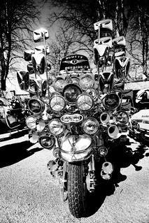 Mirror Mirror on the bike who is the  .....