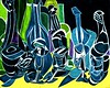 The Taste Of Cool Cool Water (bill_giddings) Tags: original fineart modernfineart fineartstilllife stilllifeoilpainting oilpaintingoncanvas bottlesofwater bottlesofwaterandglasses colour blues green yellow geometricstyle cubist cubism surreal surrealism artdeco artnouveau impressionist postimpressionist modernart contemporaryart space perspective lightanddark shadows reflections creative abstract illumination lines shapes nikon