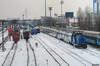 Electric & Diesel (19jimmy84) Tags: snow winter blizzard cfr railway electric diesel doubledeckers