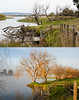 Before and after Hazelwood pondage (laurie.g.w) Tags: hazelwoodpondage latrobe westgippsland victoria coalcountry revisit devastation ruin loss spoiled destroyed destruction sad sadness lost lake dam reserve