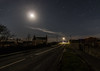 Why Did The Photographer Cross The Road? (Rob Pitt) Tags: anglesey night stars moon tokina 1116 750d canon a5025 penysarm longexposure road