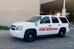 Louisiana State Fire Marshal_P1140586 (pluto665) Tags: losfm osfm forensics suv inspector investigator arson explosives chevy canine dog k9