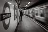 (Kathleen Van Hamme) Tags: londen london april2018 tube londonunderground beweging long exposure