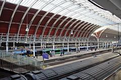 Paddington Station - London - Paris City break - Dec 2017