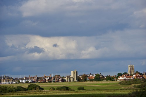 Southwold viewed from the River Blyth