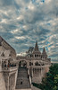 Fisherman's bastion (Vagelis Pikoulas) Tags: budapest buda fishermen bastion castle fortress tokina 1628mm landscape city cityscape architecture hungary europe travel autumn 2017 canon 6d clouds cloudy sky