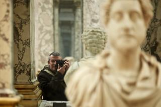 Autoportrait au portrait de Commode