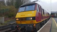 90035 at Durham Station (Uktransportvideos82) Tags: class90